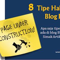 Tipe Halaman di Blog Blogspot yang Perlu Anda Ketahui !