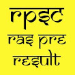 RPSC RAS Pre Result 2016 Cut Off Marks General OBC SBC ST SC