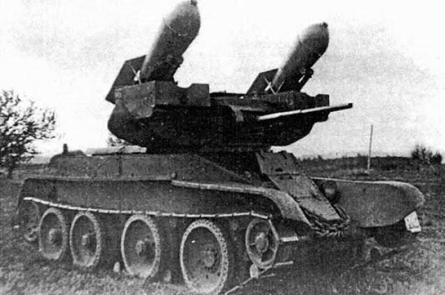 Ракетный колёсно-гусеничный танк РБТ-5