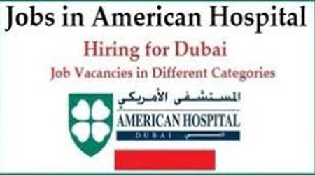 Apply Online American Hospital Dubai Jobs 2017
