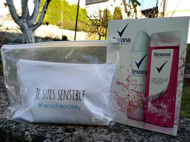 Kozmetické sady Rexona Orchid Fresh a La Roche-Posay Toleriane Sensitive