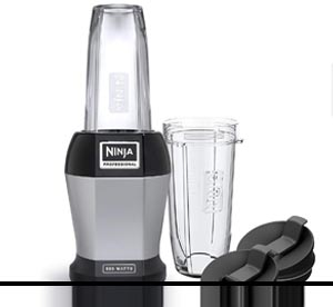 Ninja BL456 Blenders – Countertop 24 oz. Silver/Black