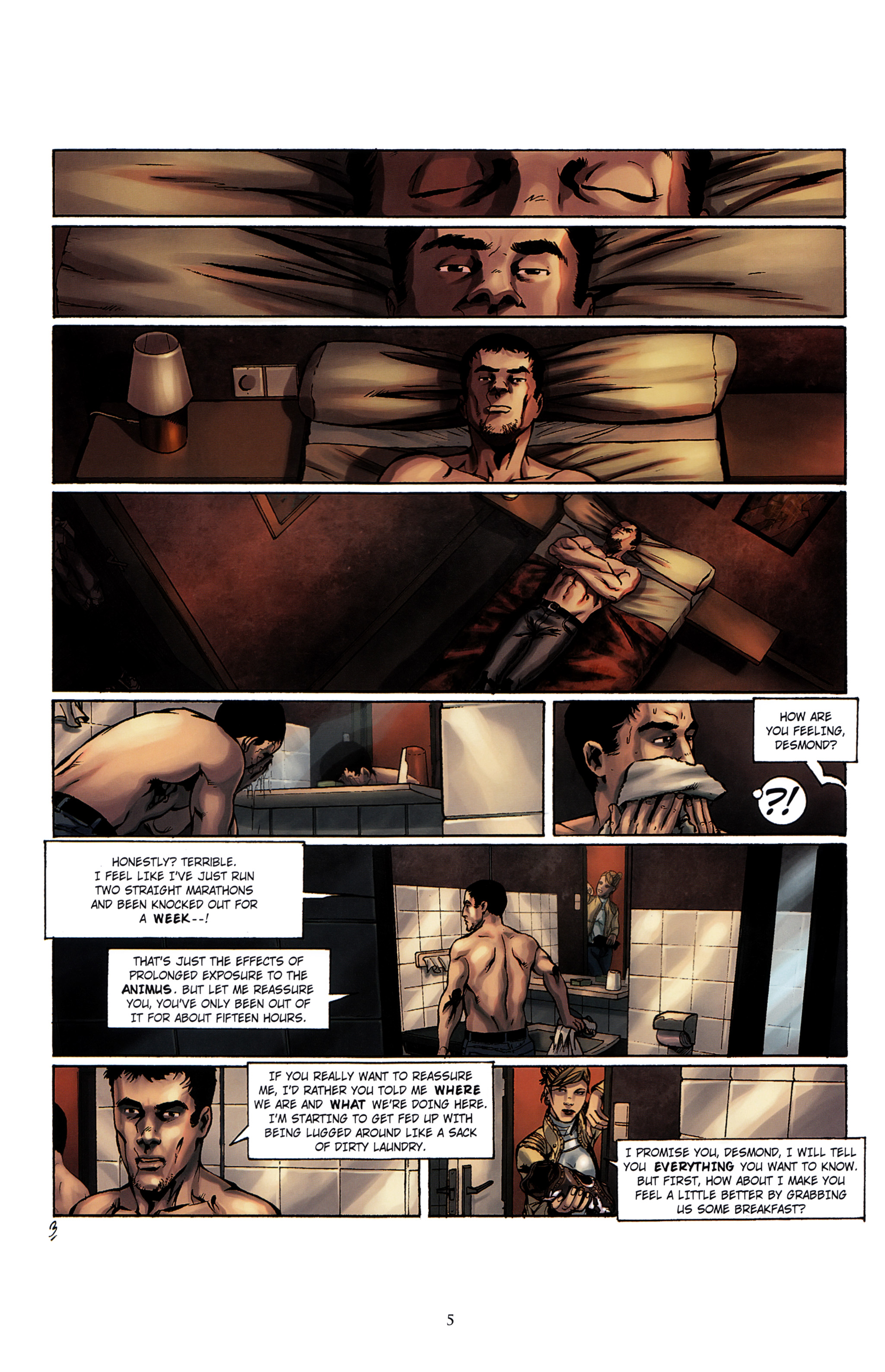 Read online Assassin's Creed (2012) comic -  Issue #2 - 9