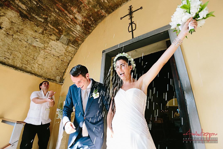 sposi chiesa Santa Croce Alassio