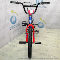 Sepeda BMX United Jumper-X Freestyle Blue Red 20 Inci
