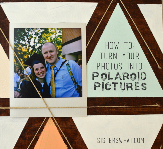 How to turn your photos into polaroid pictures