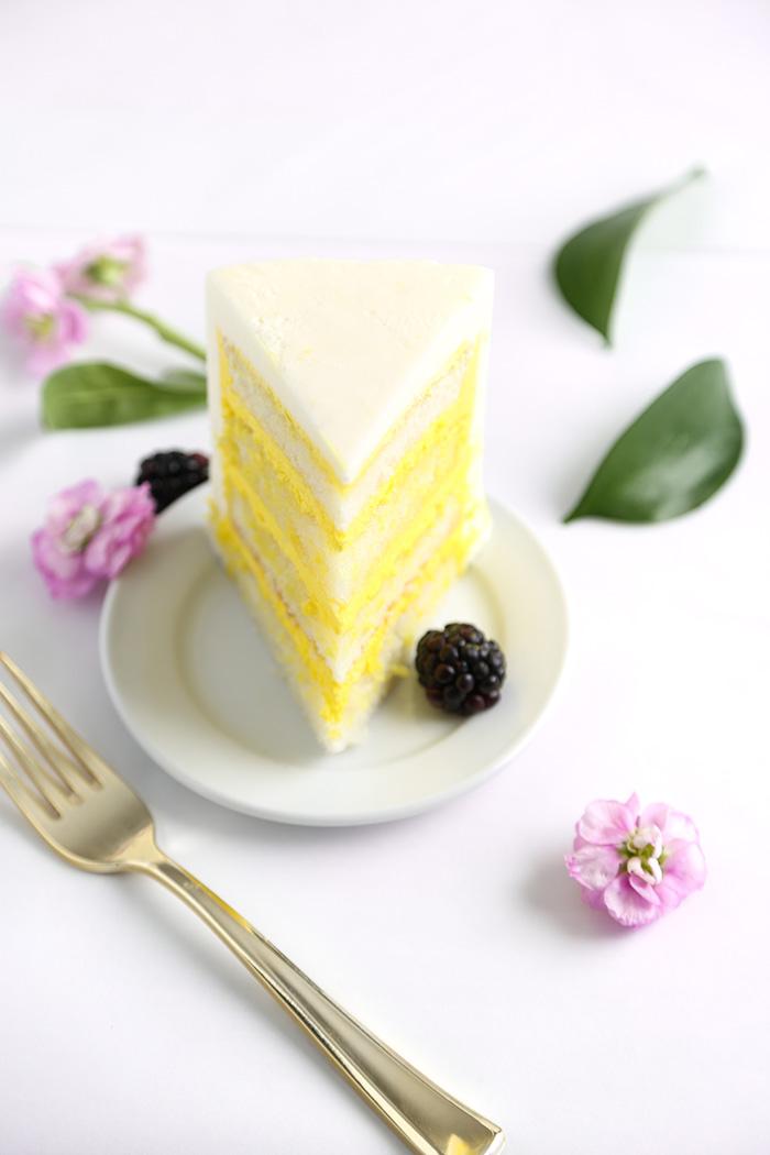 Celebrate like a Royal with Lemon Elderflower Cake   Sprinkle Bakes