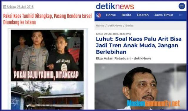Pakai Kaos Tauhid Ditangkapi, Pakai Kaos #GantiPresiden Dicurigai, Giliran Pakai Kaos PKI Dibilang Trendy