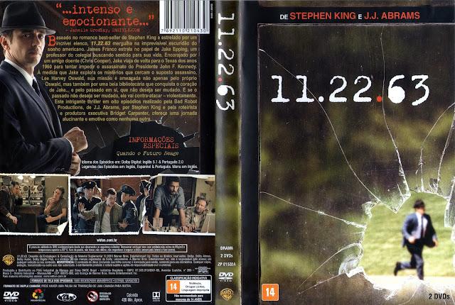 Capa DVD 11.22.63 (Oficial)