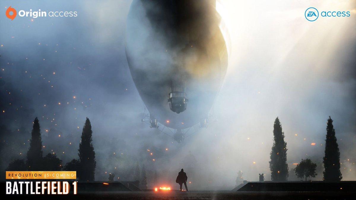 Battlefield 1 está chegando ao EA Access e Origin Access