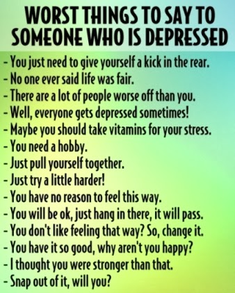 Depression Hurts (Depressing Quotes) 0084 4