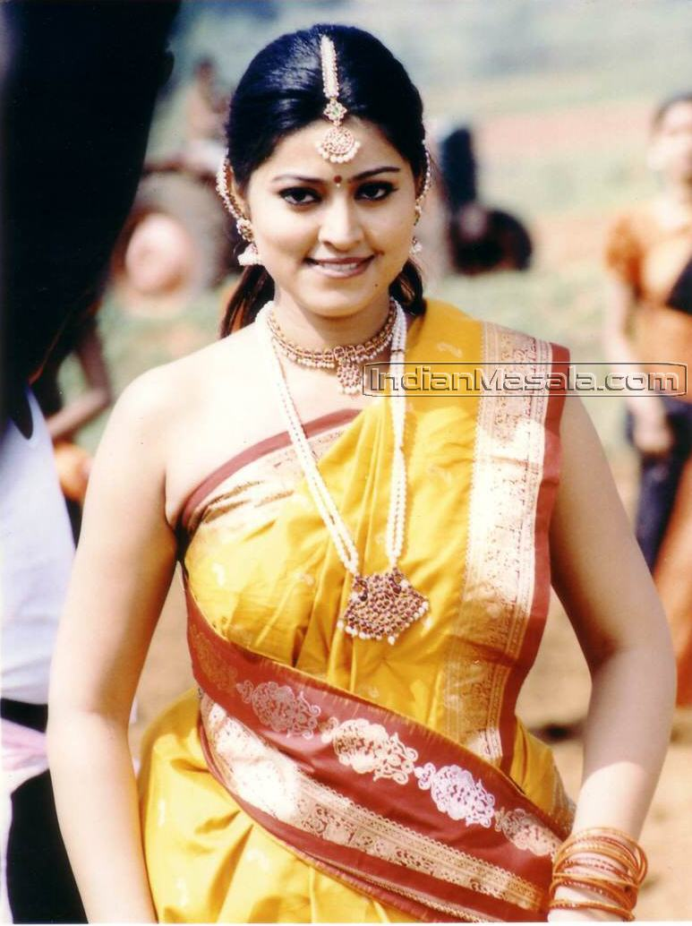 Indian Actress Tamil Actress Sneha Hot Showing Her -7098