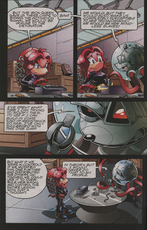 Read online Sonic The Hedgehog comic -  Issue #206 - 20