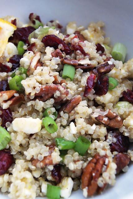 Craisin Quinoa Salad