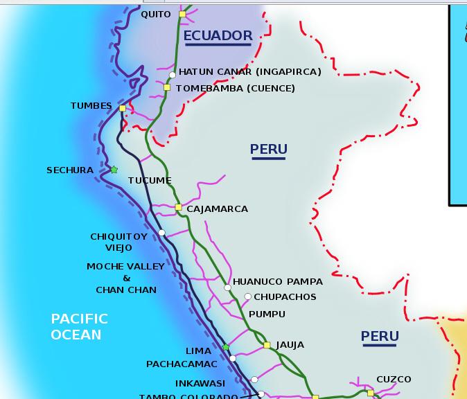 inca roads map - photo #7