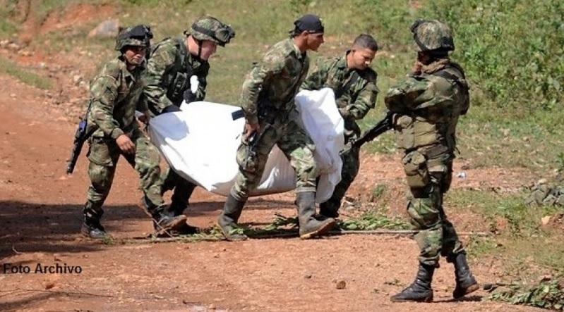 Resultado de imagen para ELN asesinado en combate