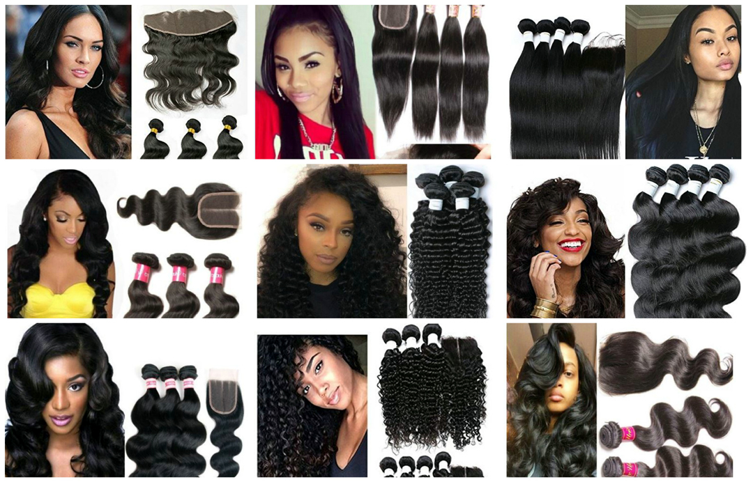 The Top 10 Human Hair Extensions Hair Bundles On Amazon