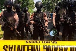 Ternyata Sosok Bercadar Masuki Halaman GKI Diponegoro Sebelum Ledakan Bom Surabaya