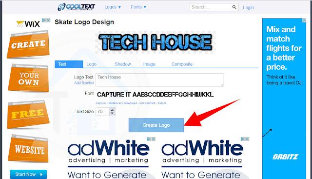 طريقة انشاء و تصميم شعار احترافي بدون برامج