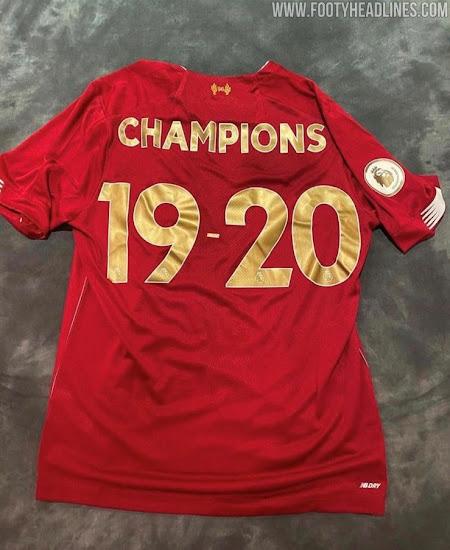 liverpool 19 20 premier league title collection released footy headlines liverpool 19 20 premier league title