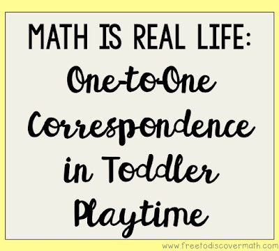 I'm especially happy because I know, as a math teacher, that he is learning one-to-one correspondence.  Each time he throws a toy in the box, we say a number.  This is the beginning of learning to count.