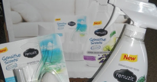 Renuzit Sensitive Scents Review + #Giveaway 3/11/2016