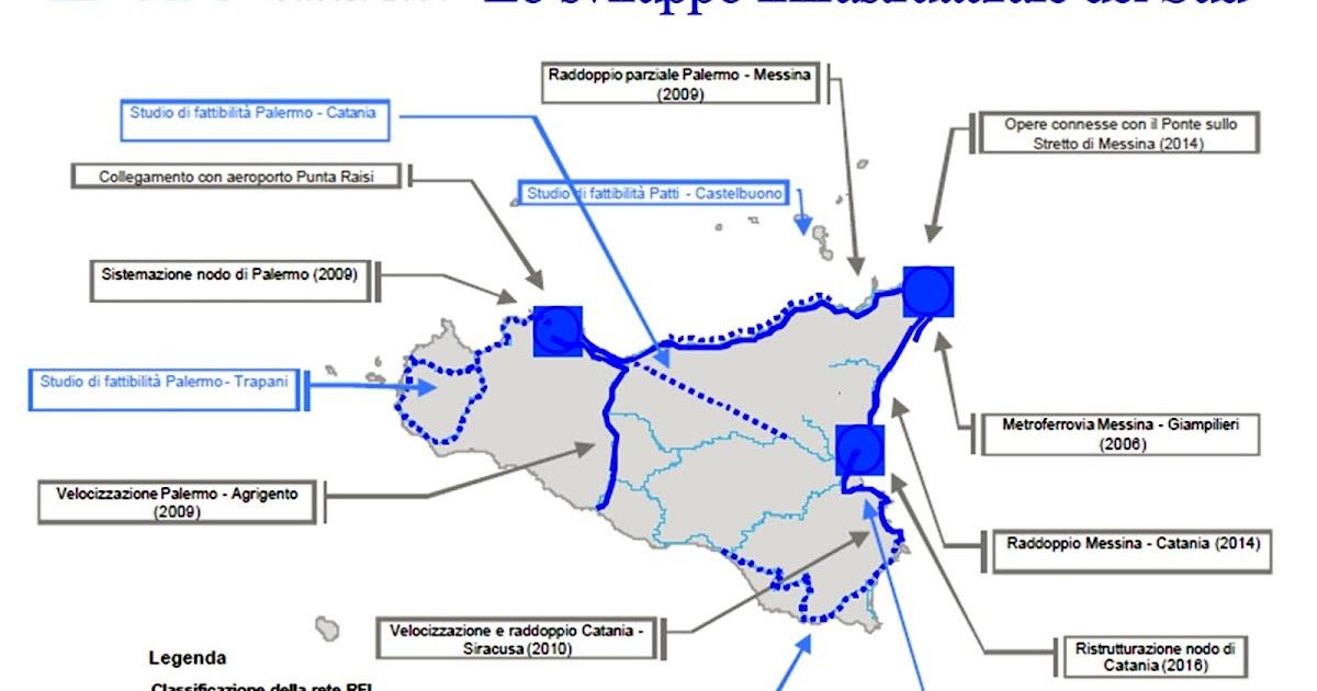 Infrastrutture: la storia infinita della Palermo-Catania e della Messina-Catania