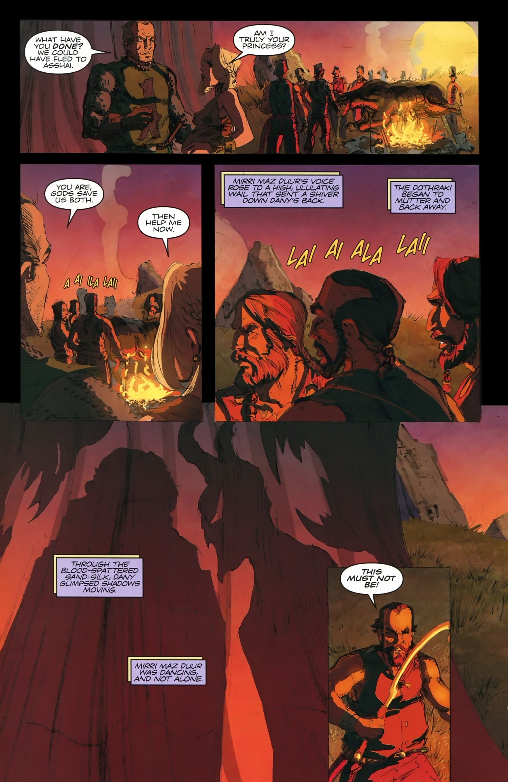 Read online A Game Of Thrones comic -  Issue #22 - 26