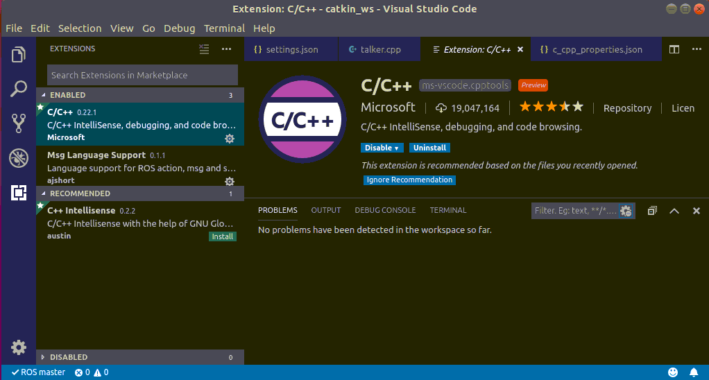 dominoc925: Setting up Visual Studio Code for working with