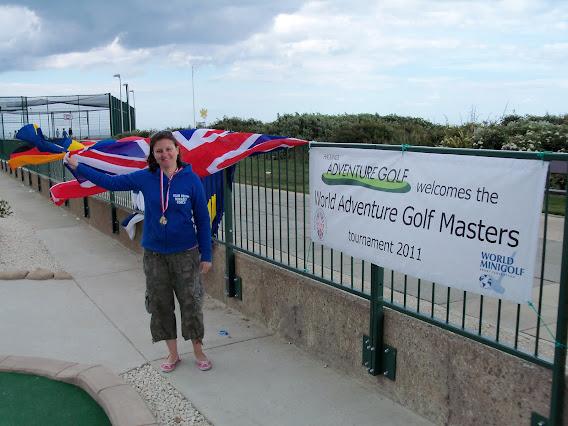 Emily Gottfried - 2011 WMF World Adventure Golf Masters Women's Champion