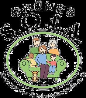 Logo Grünes S.O.f.A. :: Zentrum für Alleinerziehende e.V.