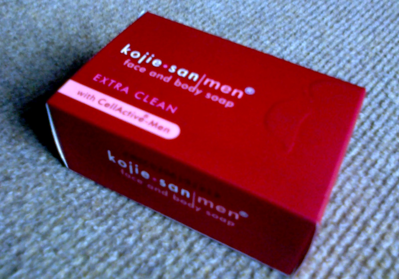 Patcy Faraon: Definitely Japan, Definitely Kojie.san |Kojie San Soap For Men