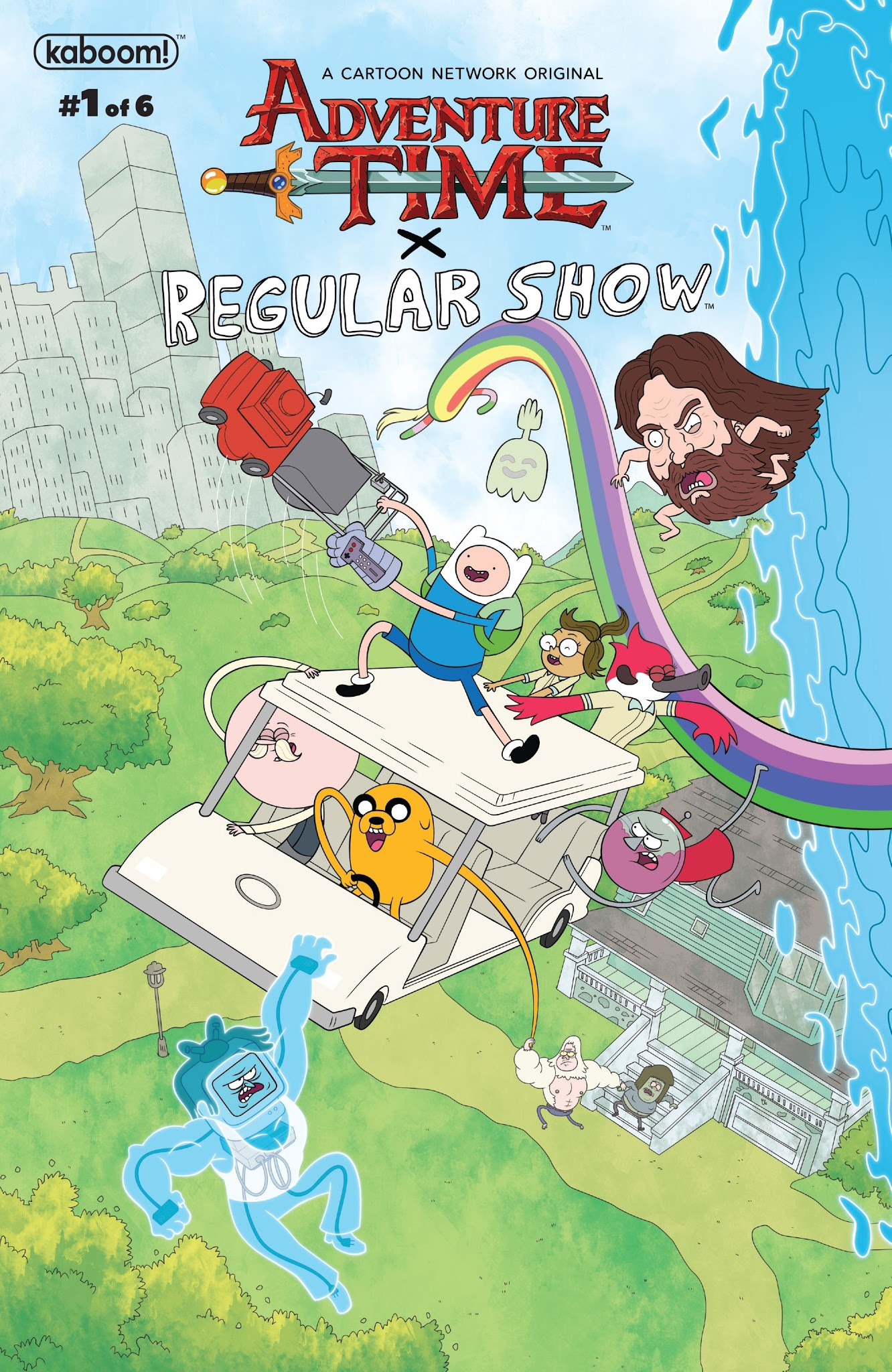 Adventure Time/Regular Show 1 Page 1