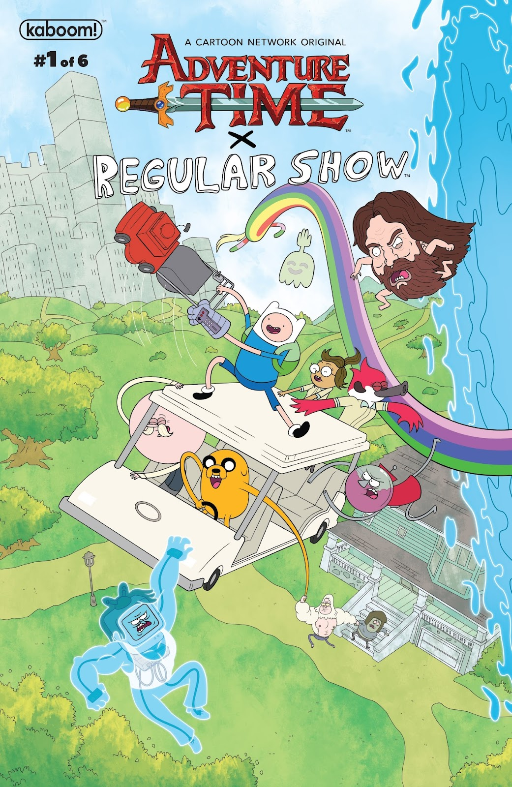 Read Online Adventure Time Regular Show Comic Issue 1