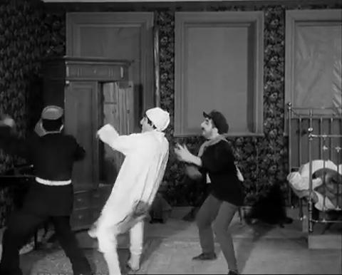 """Der """"Film im Film"""" in """"Gefängnis"""": Stummfilm-Slapstick à la Bergman"""