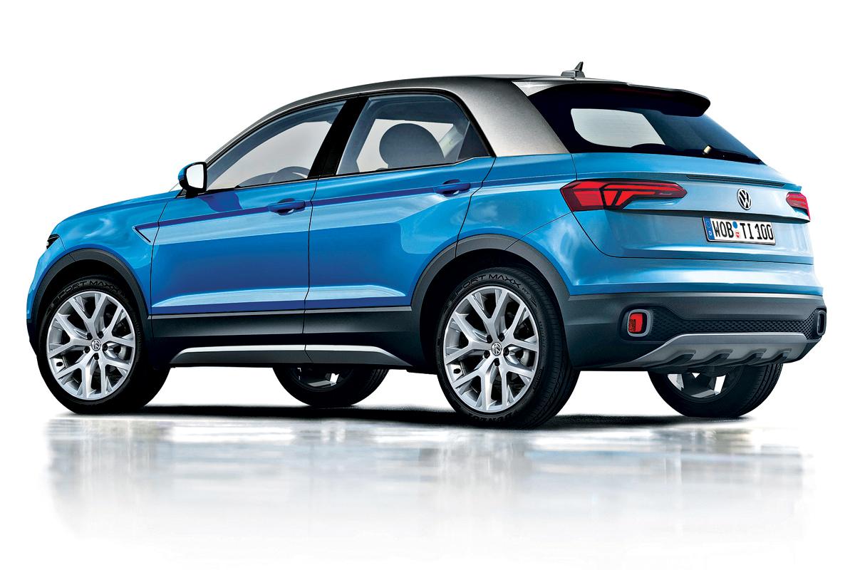 Volkswagen T Cross 2018 >> Novo Volkswagen T-Cross tem detalhes revelados e deve ser revelado na Europa em 2017