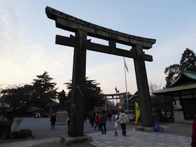 大阪城豊國神社 鳥居