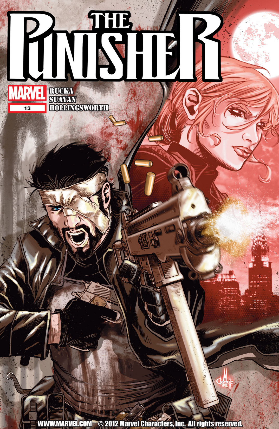 The Punisher (2011) 13 Page 1