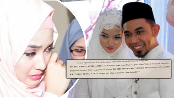 Bukti Joy Revfa Masih Isteri Orang Ketika Nikah Dengan Hafiz Hamidun Didedahkan