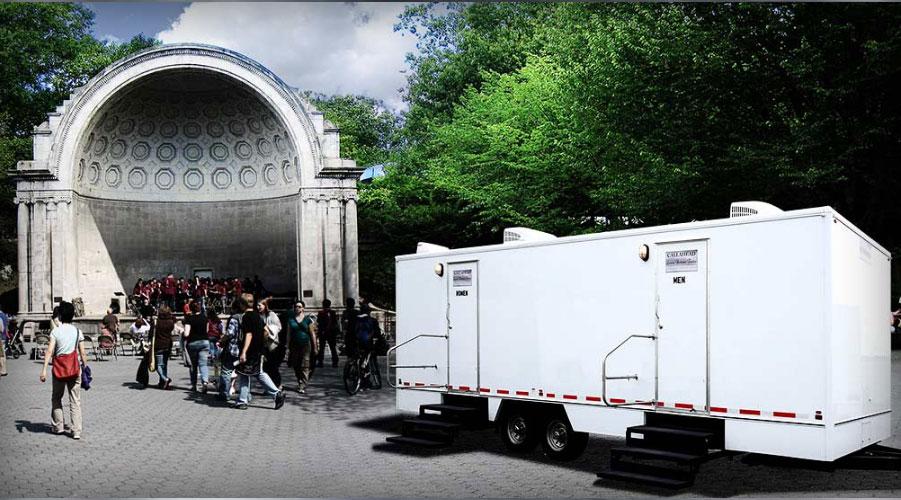 Portable Toilets New York NY Westchester Long Island Nassau Gorgeous Bathroom Trailer Rental
