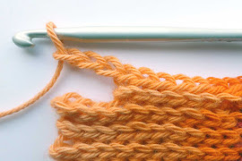 Slip stitch - long rows 1