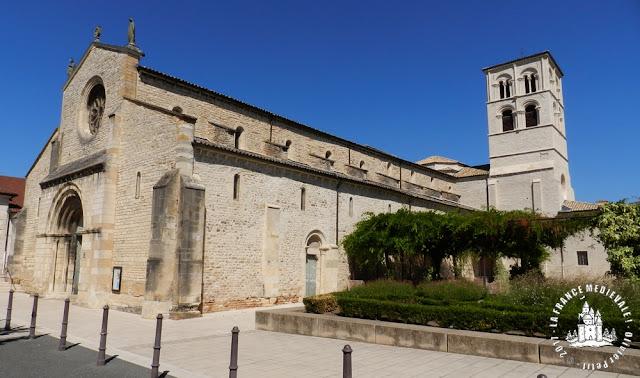 BELLEVILLE (69) - Eglise Notre-Dame (XIIe-XIVe siècles)