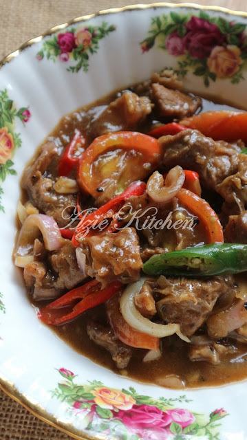 Daging Masak Black Pepper