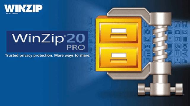 تحميل برنامج WinZip Pro لضغط الملفات + التفعيل