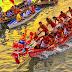Dragon Boat Race Di Gelar Di Sungai Carang
