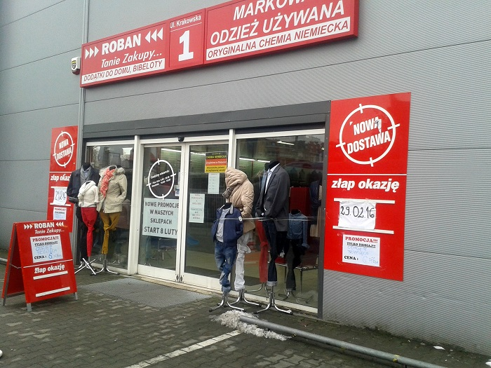 Wrocławskie ciucholandy: Roban po raz drugi