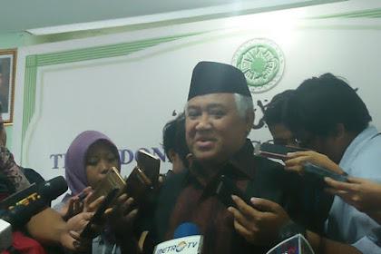 Sayangkan 'Kicauan' GM Soal Amien Rais, Begini Tanggapan Din Syamsuddin