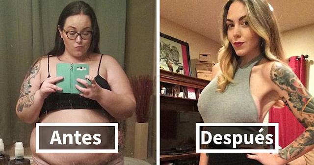 fotos del antes y el después