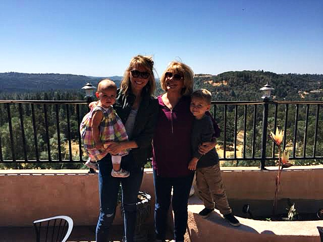 Family-hiking-clothing-fashion-discussion on aging-aging with style