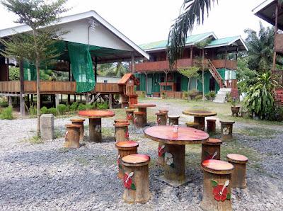 tempat santai al cabin